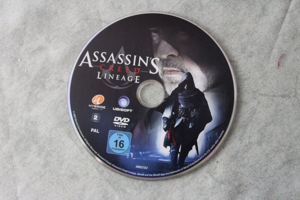 Assassins Creed Lineage Dvd 7294901573 Oficjalne Archiwum Allegro