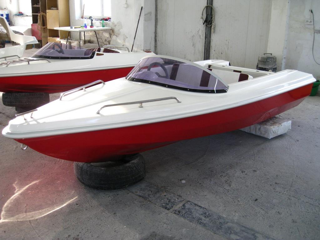 Forma do produkcji łodzi 350