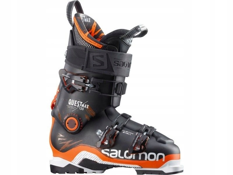 Salomon QUEST MAX 130 BLACKOrange 1516