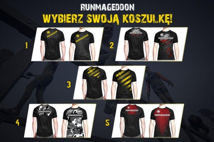 RUNMAGEDDON koszulka t-shirt S + smycz i opaska