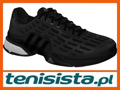 Buty męskie Adidas Barricade Boost Black 43,13