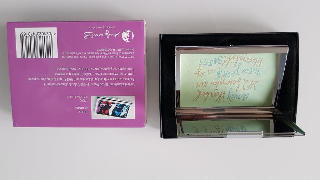 Wizytownik 1 3000 Andy Warhol Troika 7112887756