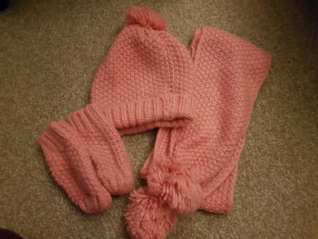 Next-czapka,szalik,rekawiczki