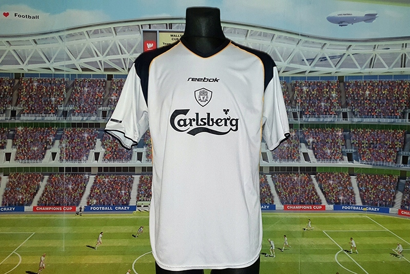 LIVERPOOL F. C. - REEBOK - 2001/2003 - AWAY - XL !