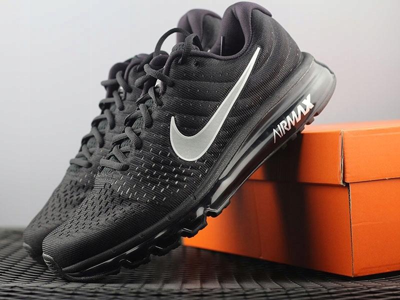 Nike Air Max 2017 CZARNE 849559 001, r. 39 7443402865