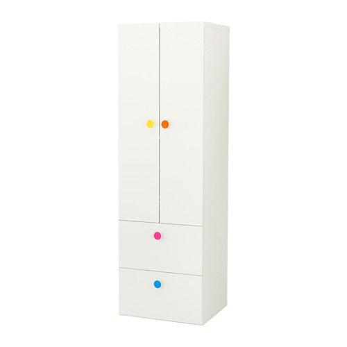 IKEA biała szafa 60x50x192  STUVA FOLJA komoda