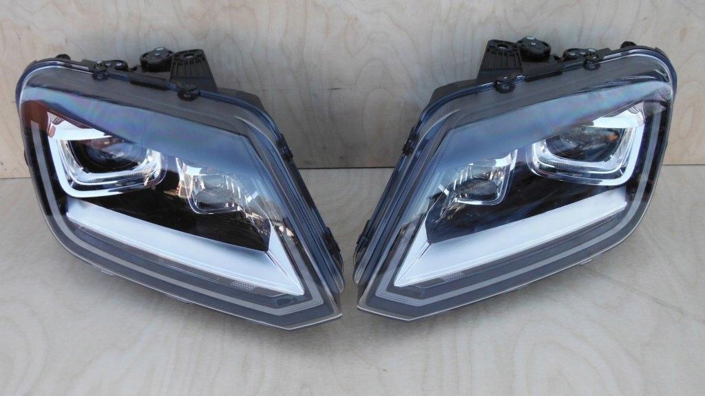 VW AMAROK LAMPA LAMPY PRZOD LED NOWE KOMPLETNE