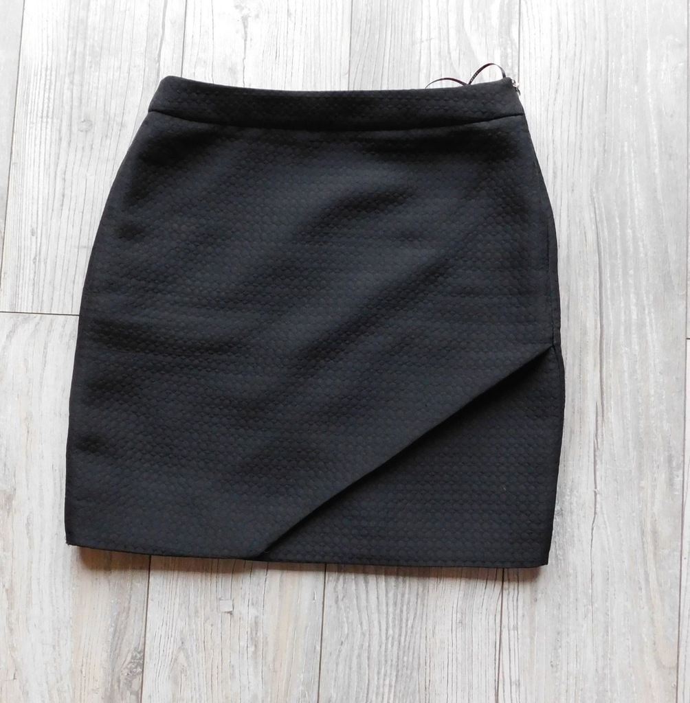 spódnica RESERVED czarna mini r. 34 7535330772 oficjalne
