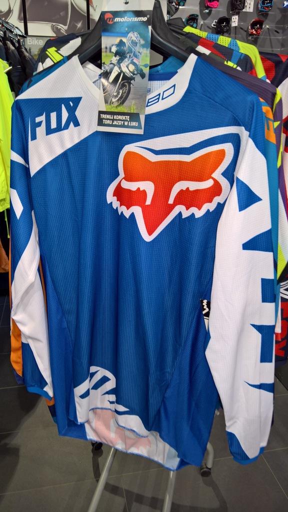 Bluza FOX 180 Race Blue roz. S