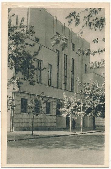 Warszawa Powiśle Dom Nauczyciela ZNP 1951r