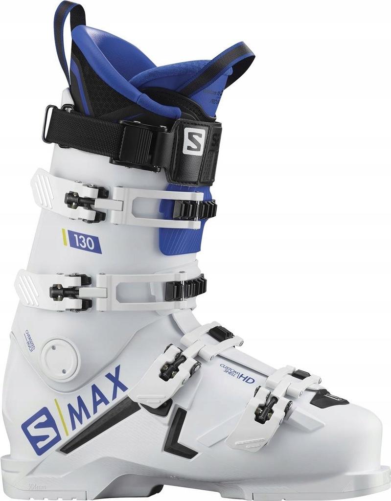 Buty narciarskie Salomon S Max 130 Biały 2626.5 N