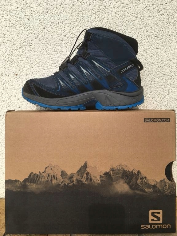 Buty dziecięce trekkingowe SALOMON XA PRO MID 26
