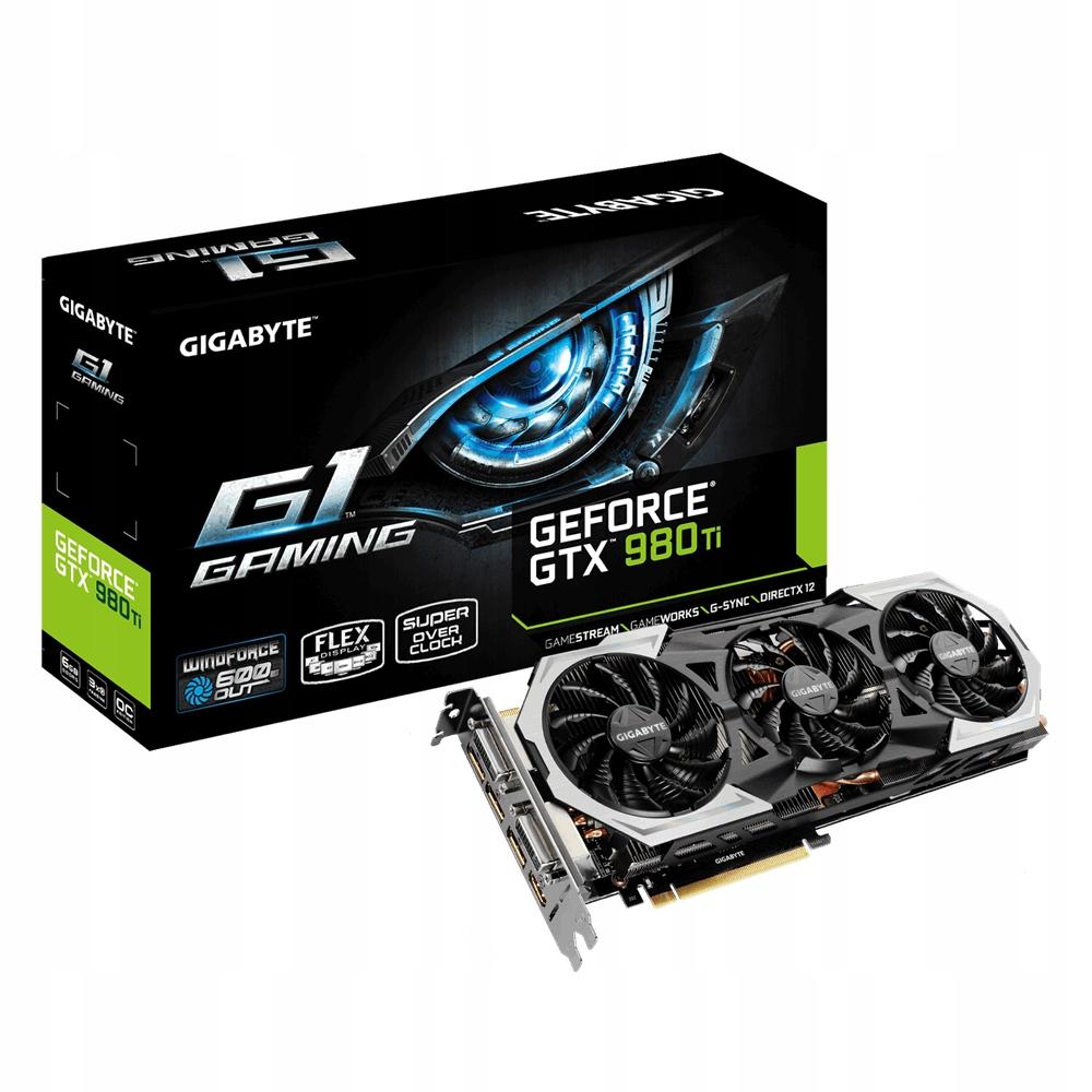 Gigabyte Geforce Gtx 980 Ti 6gb 7469497053 Oficjalne Archiwum Allegro