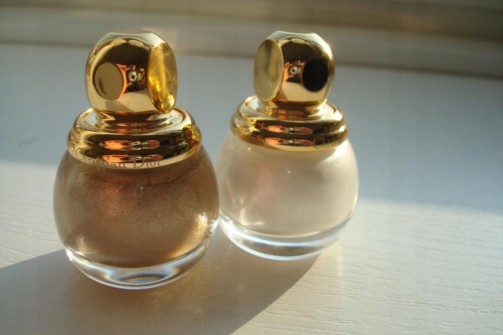 Dior Lakiery Do Paznokci 2 sztuki Limit Edition