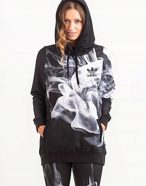 Adidas Originals RITA ORA HOODIE SMOKE BLUZA L