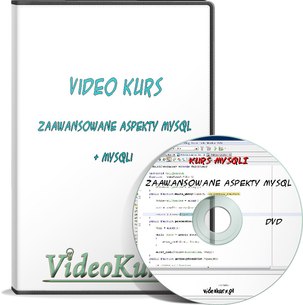 Video Kurs MySQLi - Zaawansowany MySQL - NOWOŚĆ