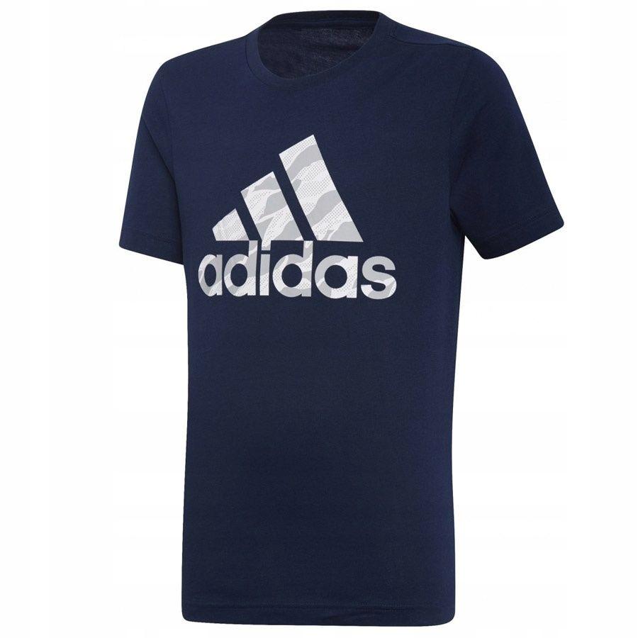 Koszulka adidas BOS DI0364 140 cm granatowy