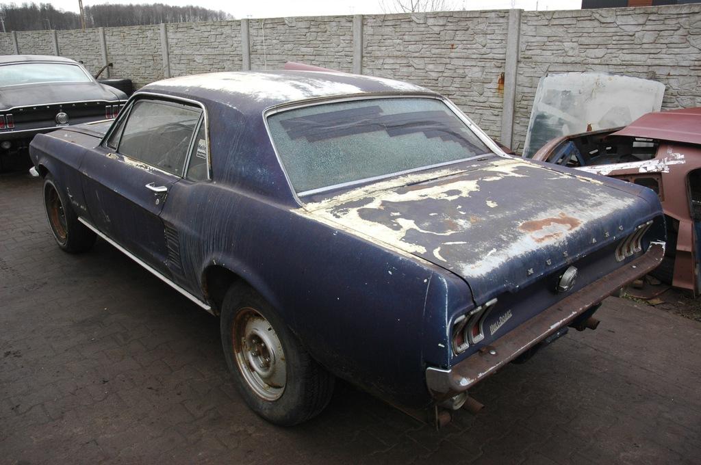 Ford Mustang 1967 Cena Srbija