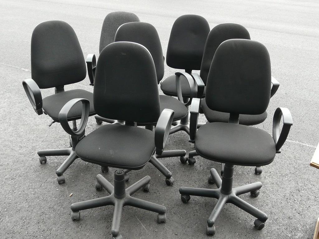 Używane meble biurowe, używane krzesła biurowe Warszawa