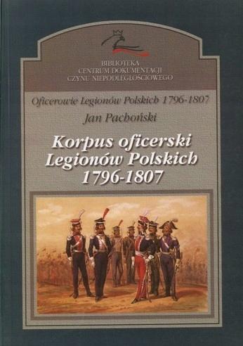 Korpus oficerski Legiony 1807 Napoleon Bonaparte