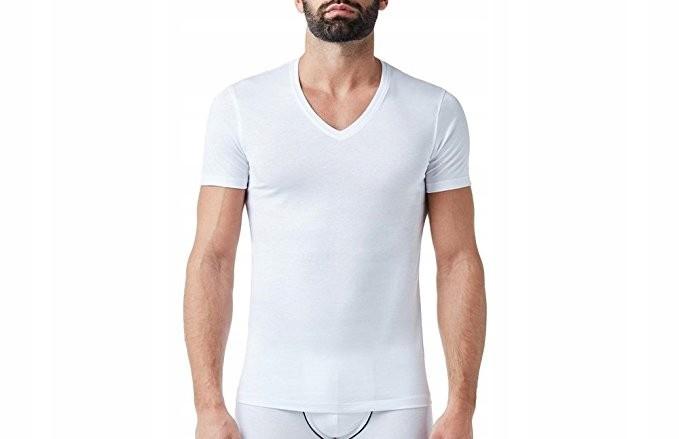 Fila T Shirt Koszulka Męska Biała XXL