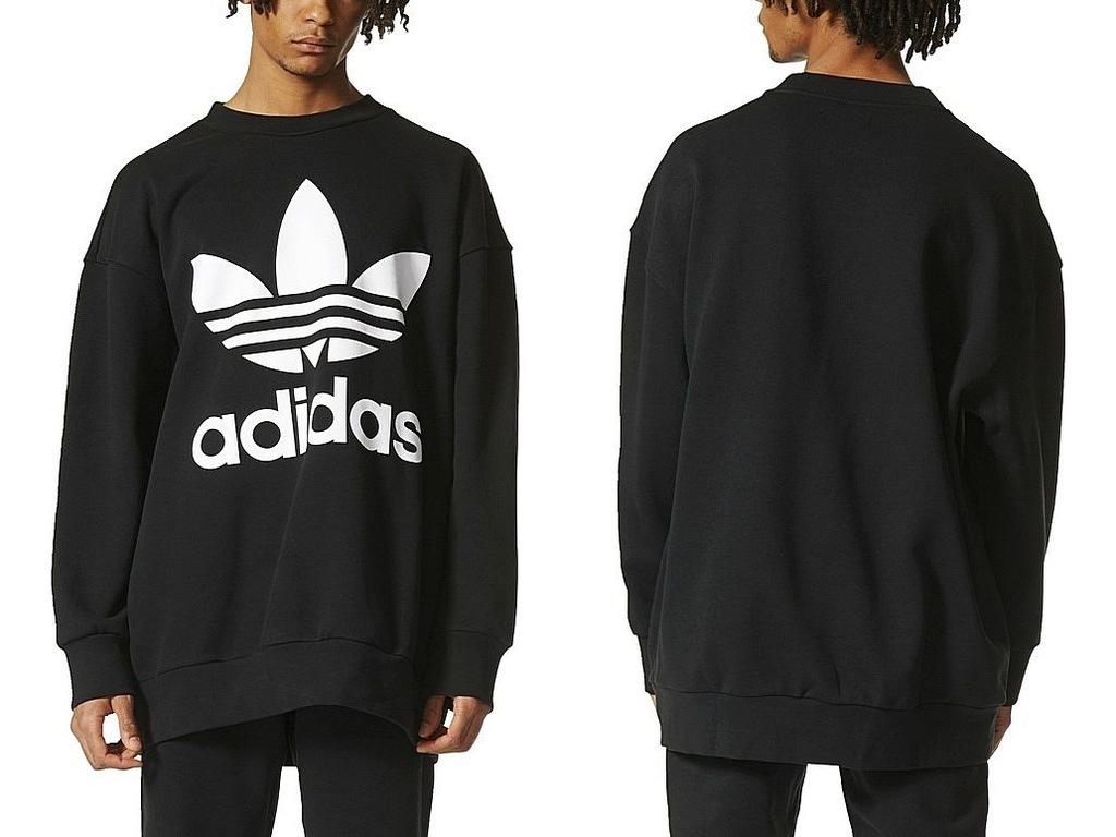 Adidas CREWNECK SWEATSHIRT (L) Bluza Męska