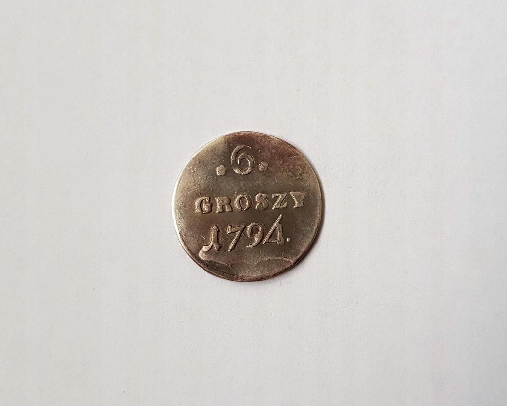536) 6 GROSZY 1794