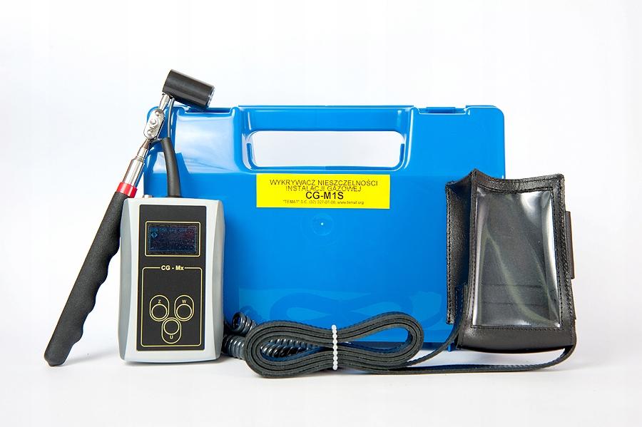 Wykrywacz gazu CG-M1S; detektor nieszczelności