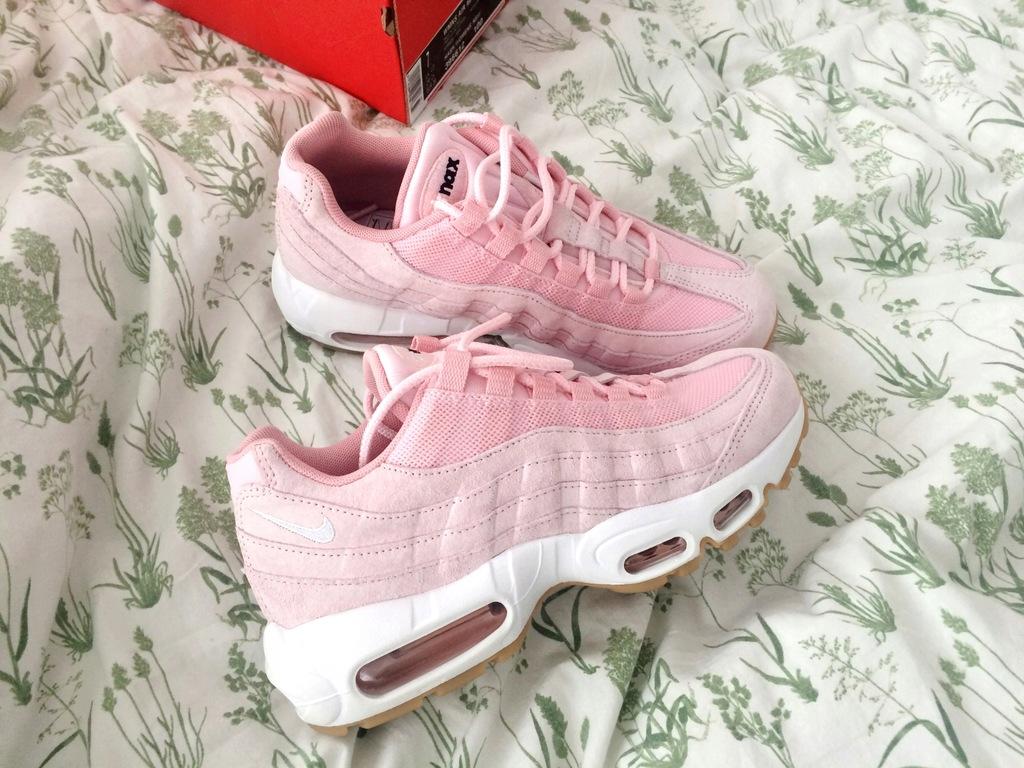 Nike Air Max 95 Damskie Różowe Pink