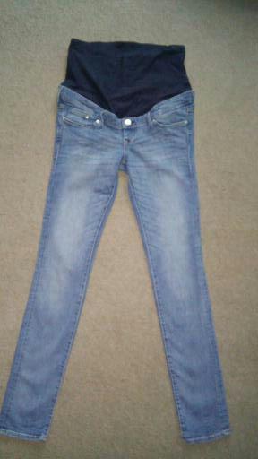 spodnie ciążowe H&M Mama Rurki. Rozmiar 38