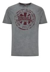 T-Shirt LONSDALE LONDON HAWES szary XL