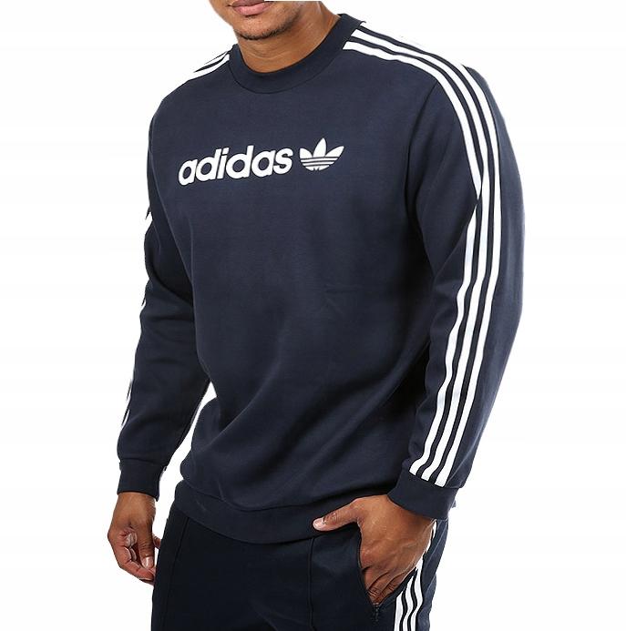 Bluza Adidas Originals Linear Crewneck navy (BR4222)