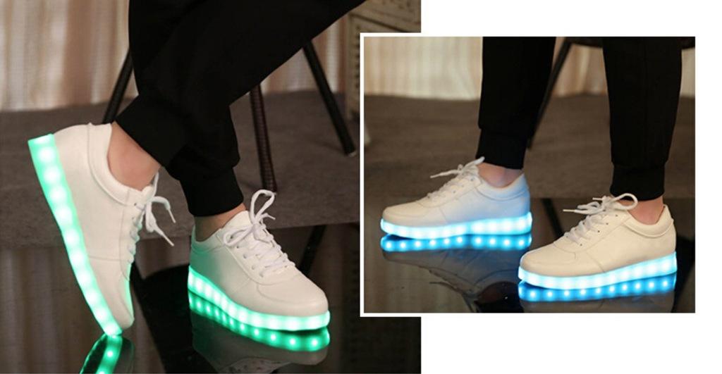 BUTY LED świecące buty ledowe dla dzieci USB r.33
