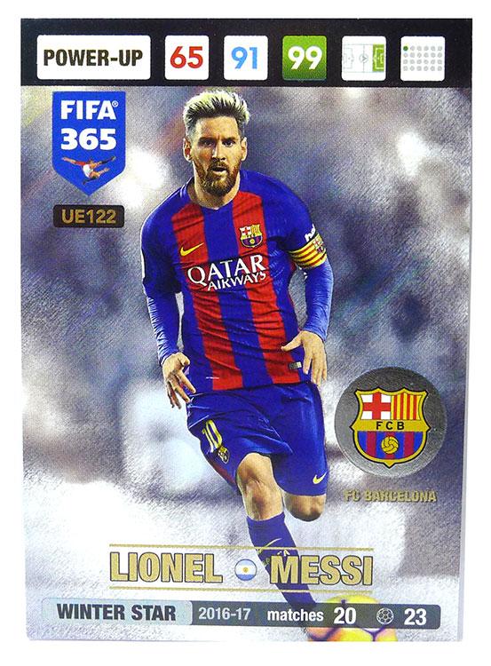Karty Fifa365 2017 Update Winter Star Messi Ue122 6877654942 Oficjalne Archiwum Allegro