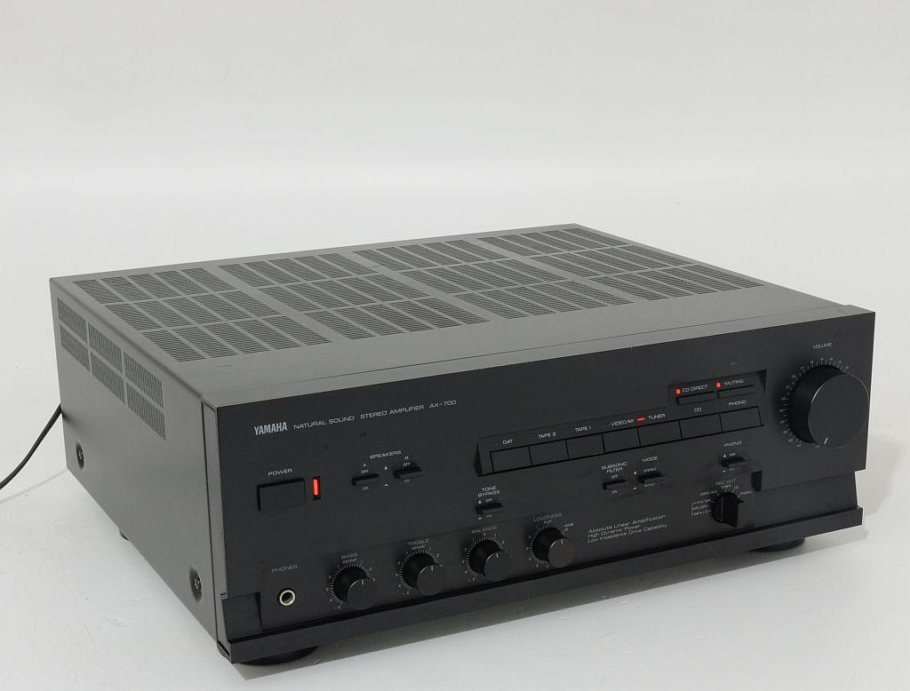 Yamaha Ax 700 Kultowy Wzmacniacz Stereo 7207032722 Oficjalne Archiwum Allegro