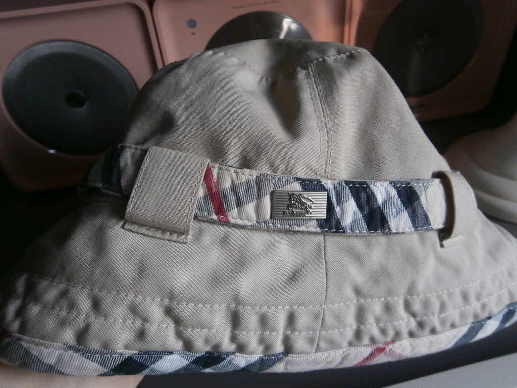 BURBERRY LONDON kapelusz kapelusik z logo S