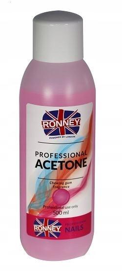 Aceton Remover Guma Balonowa 500 ml RONNEY