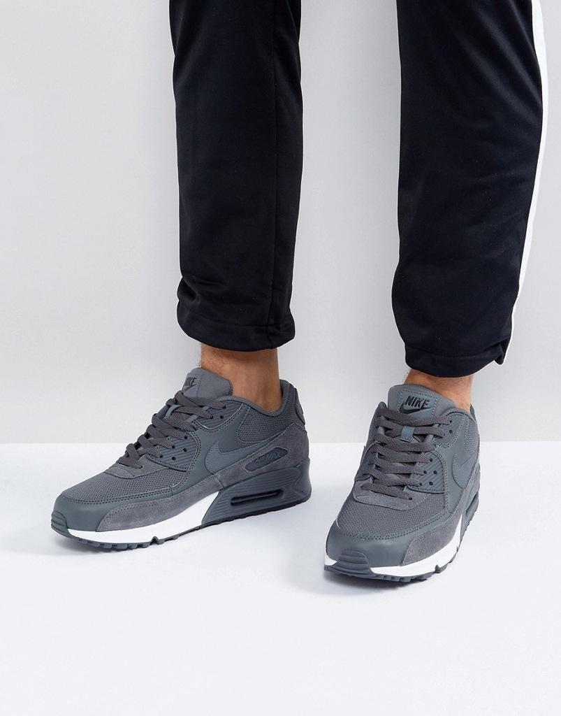 Nike Air Max 90 537384 078 Sportowe Szare 46