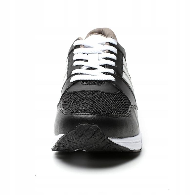 Męskie sportowe buty podwyższające +8 cm r. 43