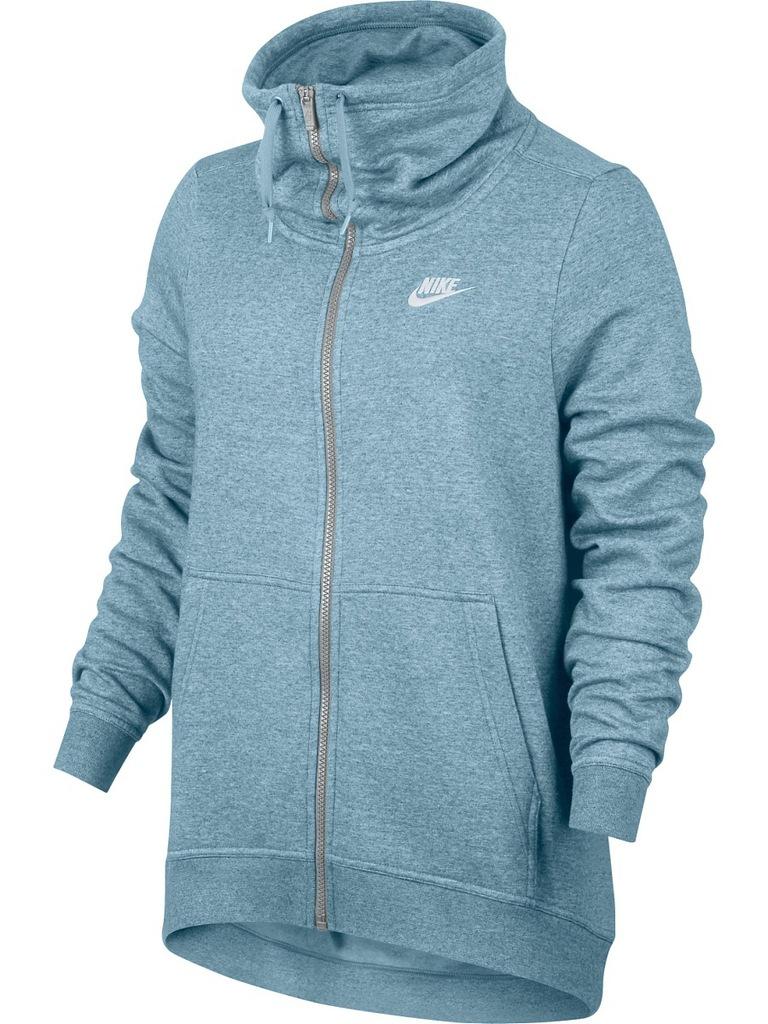 Bluza damska Sportswear NSW Hoodie Full Zip Fleece Nike (burgund)