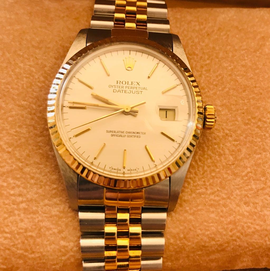 Zegarek Rolex Datejust Stal Zloto 7647470694 Oficjalne Archiwum Allegro