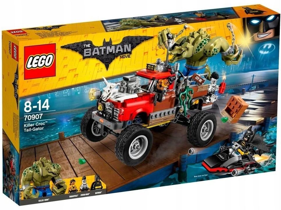 Lego Batman 70907 @@ KILLER CROC @@ figurka 9cm ...