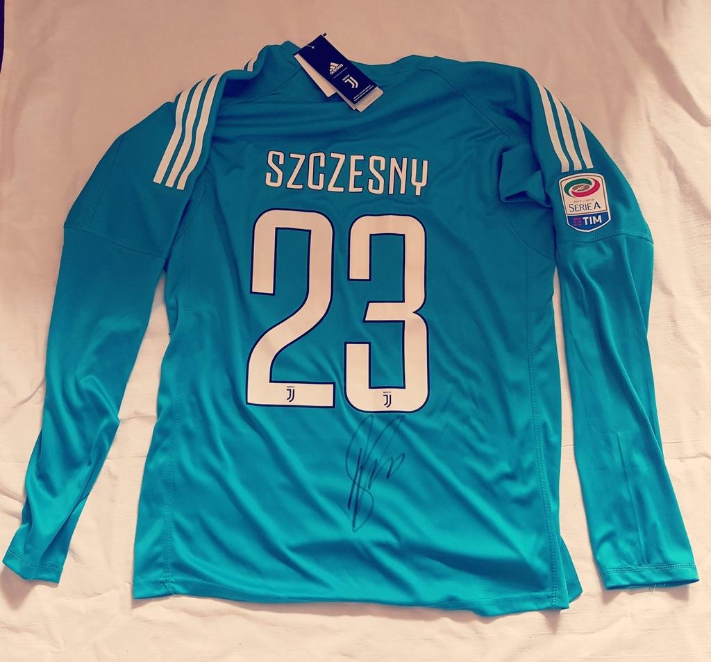 Wojciech Szczesny Koszulka Juventusu Z Autografem 7377729351 Oficjalne Archiwum Allegro