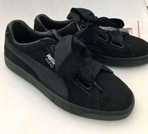 NOWE sneakersy Puma Suede Heart EP r. 41 czarne