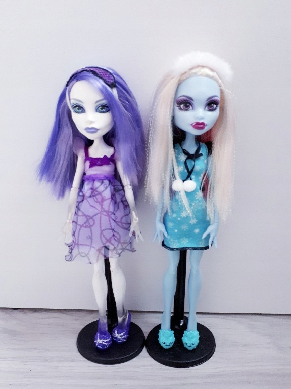 Pyjama Party Monster High Lalka Spectra I Abbey 7634759195 Oficjalne Archiwum Allegro