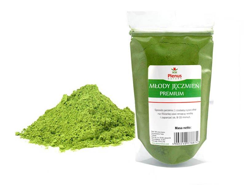 jeczmien mielony zielony