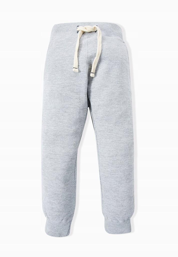 MANGO KIDS spodnie dresowe na gumce 110 7641181106