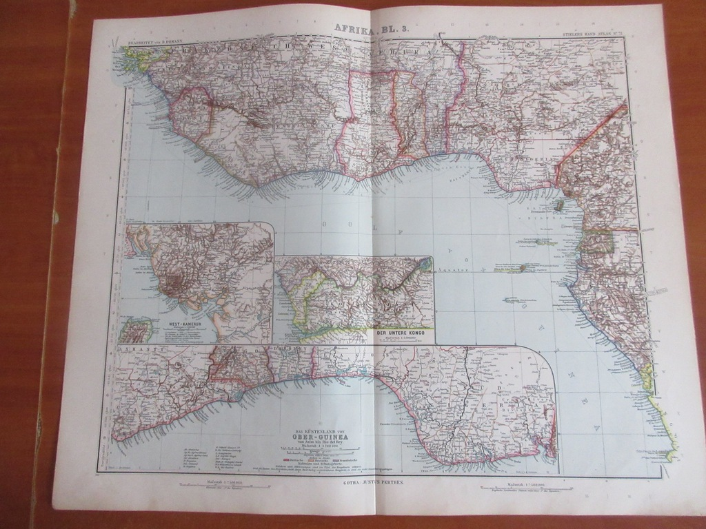 GWINEA LIBERIA NIGERIA ROK 1905
