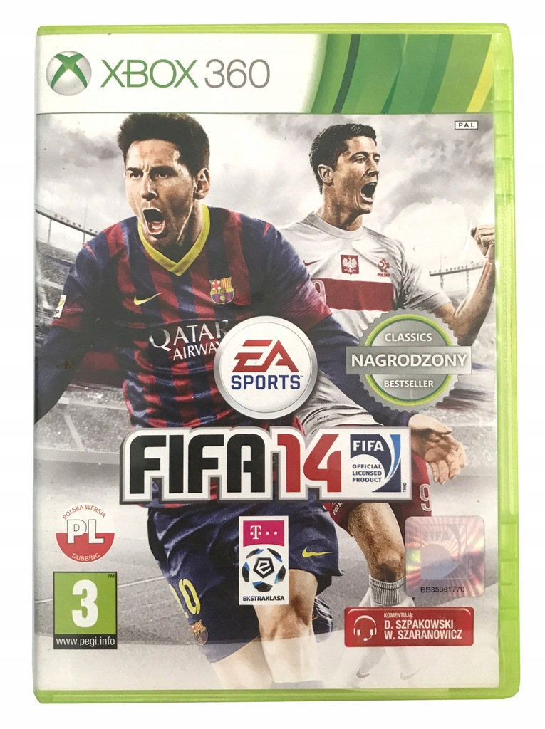 Fifa 14 Xbox 360 7537804036 Oficjalne Archiwum Allegro