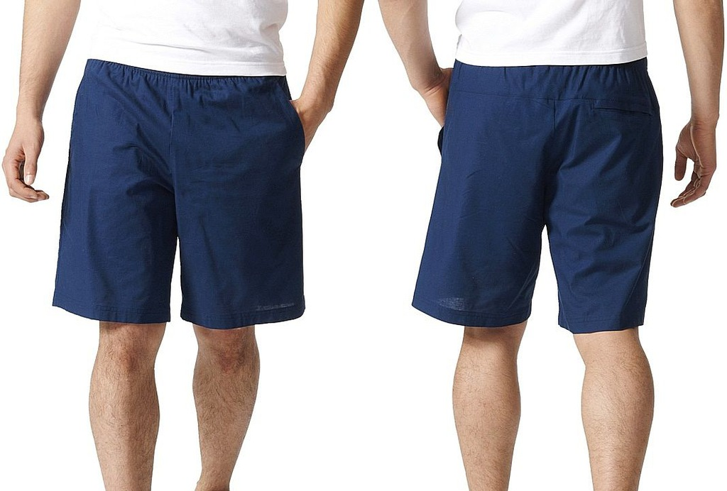 Adidas ESSENTIALS COTTON WOVE (L) Spodenki Męskie